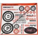 Stickers Evil 2 petits modèles